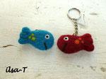 Schlüsselanhänger Fische