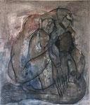 手首の無い人形と蟇蛙並みの肉体  530×430     2011
