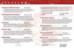 Konzertprogramm 2014