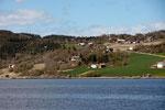Fjord Richtung Skogn