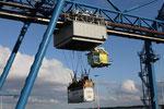 Verladung im Hafen von Rotterdam