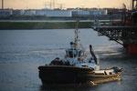 Talkboat im Hafen Rotterdam