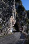 Straße nach Peille
