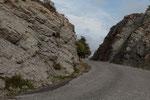 unterwegs auf der D15 Route du Col Saint-Roch