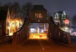 Drehbrücke am Deutzer Hafen