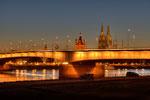Deutzer Brücke mit Dom und Groß St. Martin