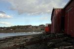 Bootshäuser in Skogn