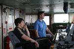 2. Offizier mit Passagier