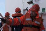 Seenotrettungsübung (Drill)