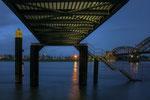 Steg am Rhein