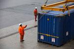Verladung im Hafen von Bergen