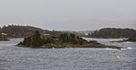 Fjord in Richtung Bergen