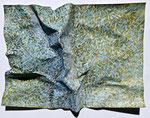geological structures, 39x29 cm, Mischtechnik auf Papier