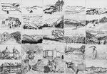 Aus und Einblicke ins Tösstal, 42x29.7 cm, chin. Tusche, Tuschstift
