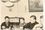 Beim Abendbrot: ich, Bernd, Bernd, Karl-Heinz Biel
