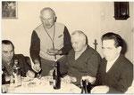 Onkel Walter Ebbighausen, mein Vater, Onkel Hermann, Horst Schiefelbein