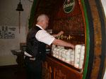 Umtrunk und Imbiss im Bockbierkeller