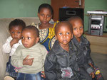 Chilren at Birthday party for Ruth and Esther (Uzomah's twins)