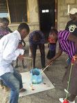 Bashiru & Happy am angeln... das macht soooooo viel Spass!