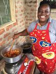 Tamara liebt es zu kochen und sie macht das mit Leidenschaft und es ist immer super lecker