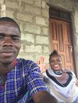 Moses & Tamara die Betreuungspersonen