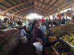 Auf dem Ilala-Market in Dar es Salaam - immer wieder ein Erlebnis