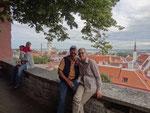 Über den Dächern von Tallin