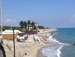 unser Strand bei Albenga