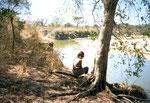 Seguendo le tracce dei leoni lungo il fiume