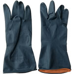 Series C2302E Industrial Latex Gloves with Diamond-Embossed Palm, 31cm Length