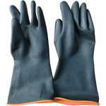 Series C2300 Industrial Latex Gloves with Smooth Palm, 35/45/55cm Length