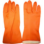 Series C2306OF Homework Latex Gloves with Facescale-Embossed Palm, 29cm Length