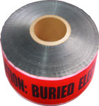 Aluminium Foil Detectable Tape with Customerized Words