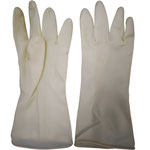 Series C2303WE Industrial Latex Gloves with Diamond-Embossed Palm, 31cm Length