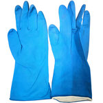Series C2305BF Homework Latex Gloves with Facescale-Embossed Palm, 29cm Length