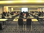 浦和法人会租税教育後にプリザーブドフラワー講習会開催 租税教育のアニメ視聴