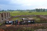2007 kam das erste Bauteam aus Deutschland