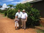 2006 Jakobus Richter mit Cor und seinem Sohn Francis
