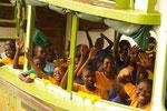 2016 Unsere 2. Safari mit den Kindern der 5.+6. Klasse auf dem Nil