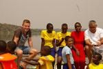 2016 Unsere 2. Safari mit den Kindern der 5.+6. Klasse und Tobias Richter und Guiseppe Danze