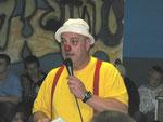 Durch das Programm führte mit viel Gaudi der Clown Muck
