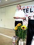 Für die evang. Kirchengemeinde spricht Pfarrer v. Egedy den Dank und alle guten Wünsche für die Zukunft aus