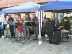 """Die Jazz-Band """"ONE MORE ONCE"""" sorgte für die musikalische Unterhaltung"""