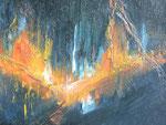 Von Elisabeth Kitzinger: Acryl auf Leinwand
