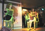 Die Tanzgruppe aus Goßmannsdorf