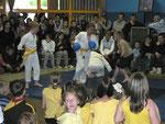 Die Karategruppe des Jugendzentrums unter der Leitung von Mikhail Simonjan zeigte ihr Können