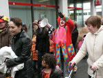 Clown Christiane sorgte für Stimmung