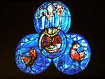 """""""Der ewige Sabbat"""" - ebenfalls ein Chagall-Bild von St. Stephan, Mainz"""