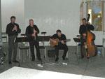 Von links: Konrad Zellmer, Ernst-Martin Eras, Armin Höfing und Stefan Kraneburg