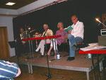 Foto: Ch. Kerner, Ulla Osmani, Franz Barwasser und Horst Taupp-Meisner trugen Gedichte vor
